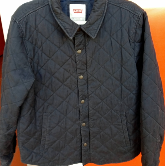 Levi's vintage quilted jacket sz M